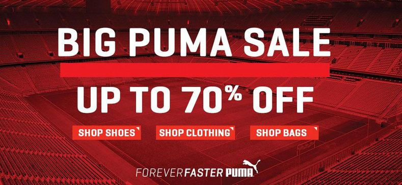 Amazon big Puma Sale