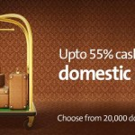 Cleartrip Coupons : Upto 55% Cashback on domestic hotels