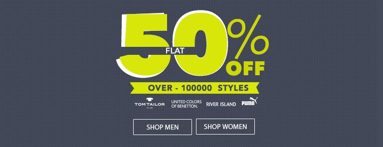 Jabong Coupons flat 50 off