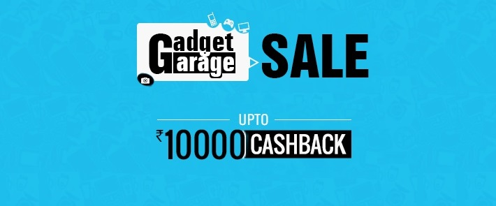 Paytm Gadget Garage Sale