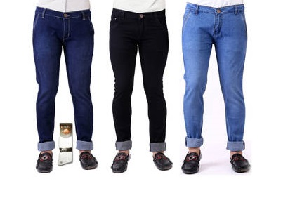 Paytm Jeans Combo of 3 Denim at Rs 735
