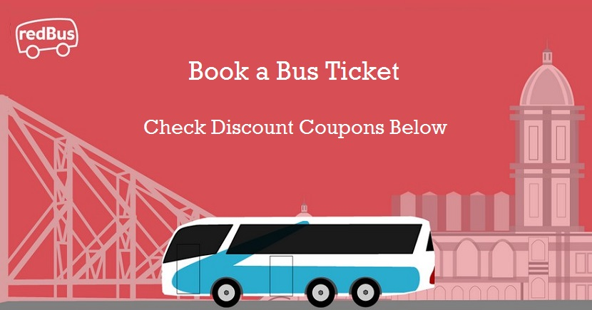 RedBus Bus Booking all Coupons