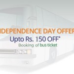 RedBus Independence Day Offer – Flat Rs.150 Discount on Bus Booking