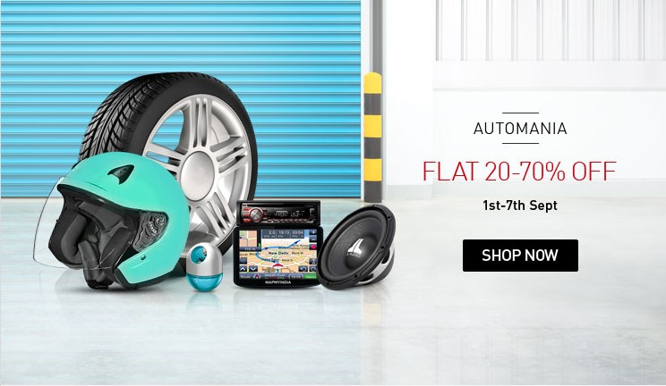 Snapdeal biggest Automotive Sale september 7