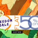 Trendin Freedom Sale – Flat 50% Off on Selected Brands