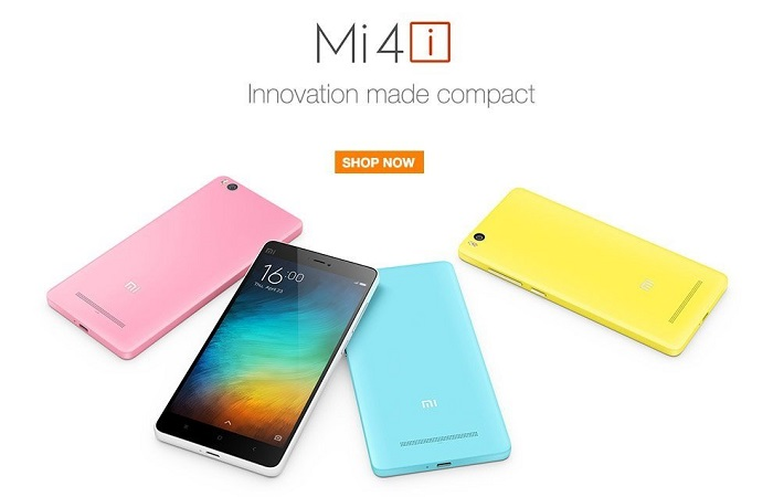Xiaomi Mi 4i Available on Amazon 1k discount