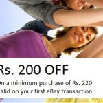 Ebay Loot Offer – Get Rs. 200 off Coupon on Rs. 220