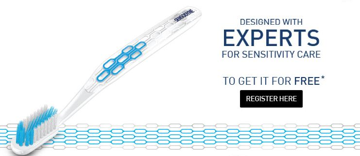 free sensodyne expert kit snapdeal