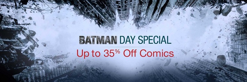 Amazon Batman Day Special Discount on Comics