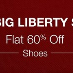 Big Liberty Sale on Amazon – Flat 60% OFF on Shoes