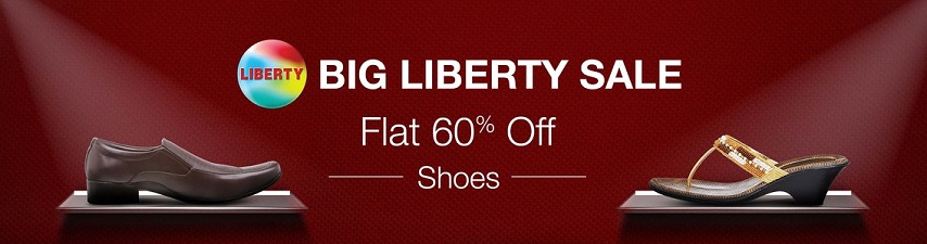 Big Liberty Sale on Amazon Flat 60