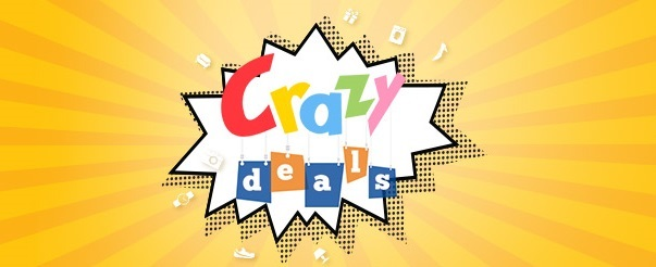 Featured Snapdeal Crazy Deals get discount on online orders