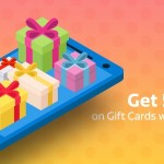 Flipkart Gift Card Cash Back Offer – Get 5% Value back
