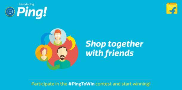 Flipkart PingToWin contest