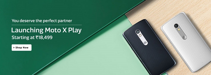 Moto X 3rd Generation Play on Flipkart