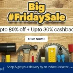 Paytm Big Friday Sale – Upto 80% off on Industrial Supplies + Extra 30% Cashback