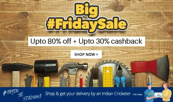 Paytm Big Friday Sale industrial supplies