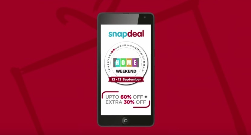 Snapdeal Home Weekend Sale Tools