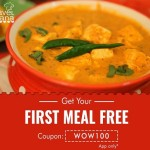 TravelKhana Coupon : First Meal Free on App (No Minimum Order Value)