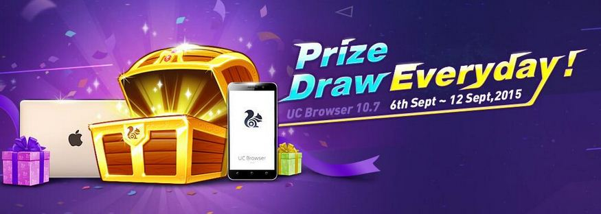 UC Browser lucky draw