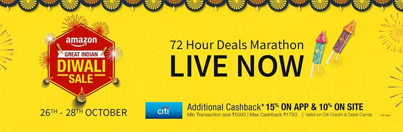 Amazon Great Indian Diwali Sale Live Now