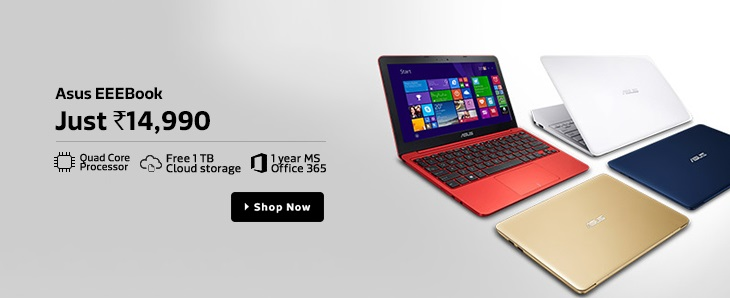 Asus EeeBook X205TA Notebook Cheapest Price 14990