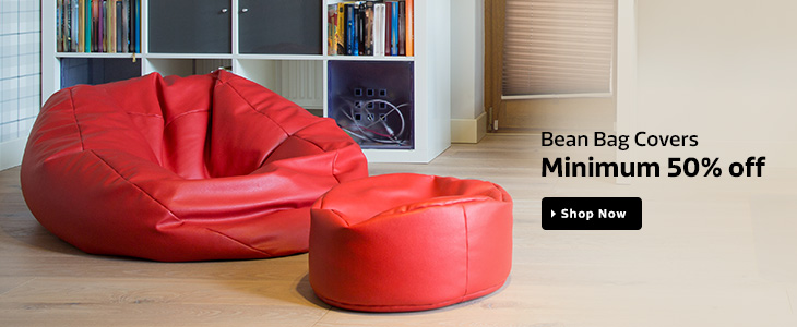 Bean Bag Covers 50 OFF On Flipkart