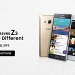 Samsung Galaxy Tizen Z3 available at Rs 8399 on Snapdeal