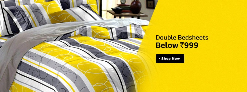 Flipkart Double Bedsheets Offer