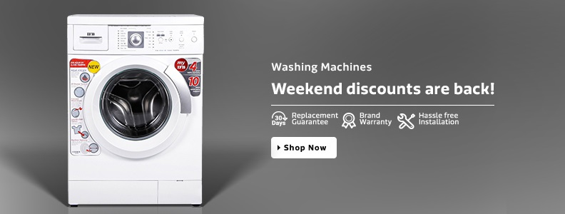 Flipkart Washing Machine Offers Weekend Discount