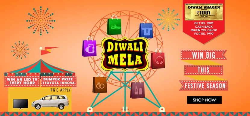 HomeShop18 Diwali Mela Sale