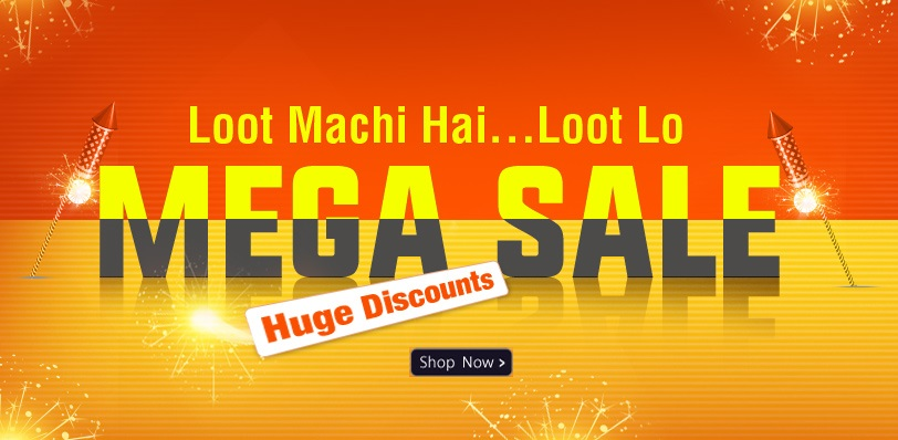 HomeShop18 Mega Sale Loot Machi hai Loot Lo