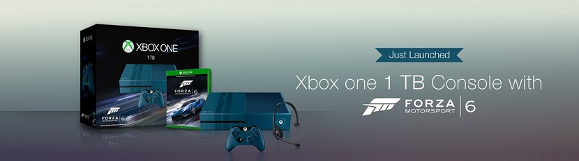 Microsoft Xbox One 1 TB Console with Forza Motorsport 6