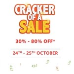 Myntra Cracker of a Sale – 24th – 25th October