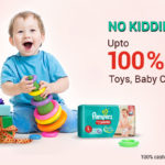 Paytm 100% Cashback Sale on Toys, Baby Care and Gifts Products