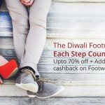Diwali Footwear Sale on Paytm – Upto 70% OFF + Additional Cashback