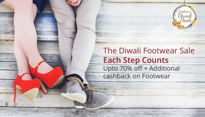 Paytm Diwali Footwear Sale