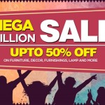 Pepperfry Mega Million Sale – Upto 50% OFF