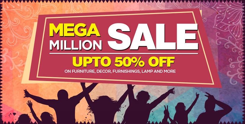 Pepperfry Mega Million Sale