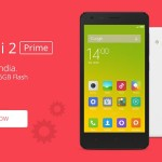 Redmi 2 Prime Launched on All Online Mega Stores at Rs.6999
