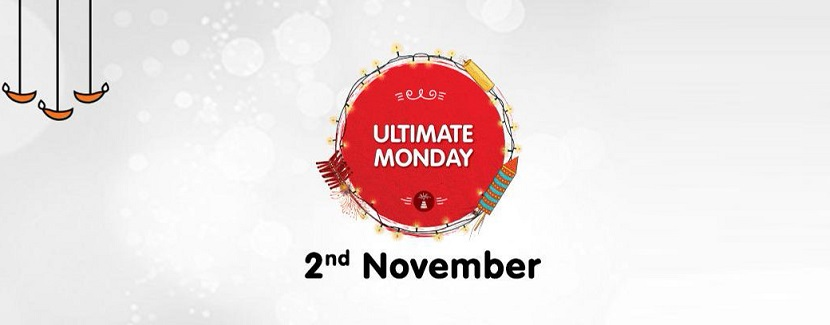 Snapdeal Ultimate Monday Sale