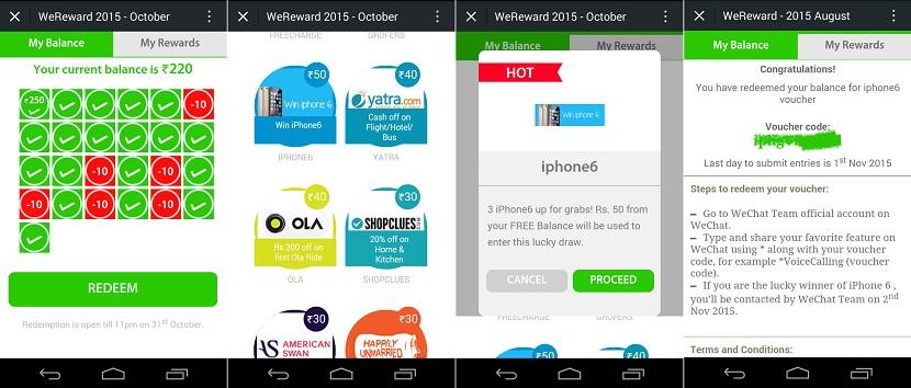 WeChat WeReward October Balance final process