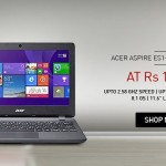 Acer Aspire ES1-111 Notebook at Lowest Price on Snapdeal