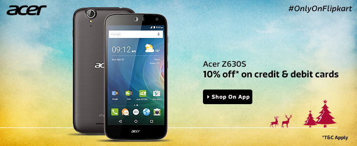 Acer Z630 Sale on Flipkart APp