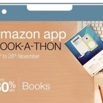 Amazon App Book-A-Thon from 24th – 26th November