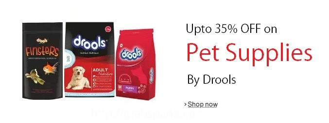 Amazon Drools Pet Supplies Offer