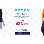 American Swan Peppy Parade Sale – Flat 63% OFF Coupon