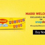 (Back in Stock) Maggi 2-Minute Noodles Pack of 12 on Snapdeal at Rs.144