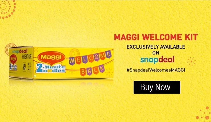 Buy Maggi Snapdeal pack of 12