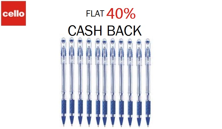 Cello Gripper Ball Pen Paytm